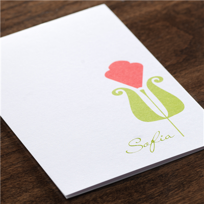 Poppy Note Card