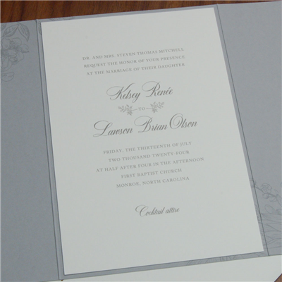 Rosemary Invitation