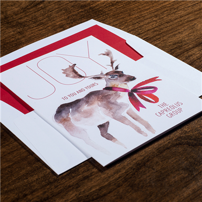 Decked Out - Folded Card