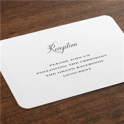Grace Reception Card