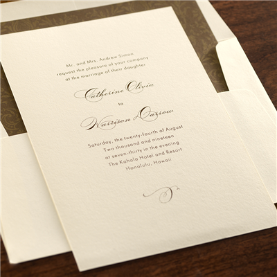 Capriccio Invitation