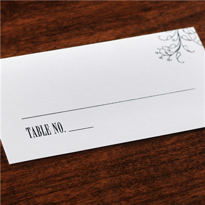 Ever After Place Card