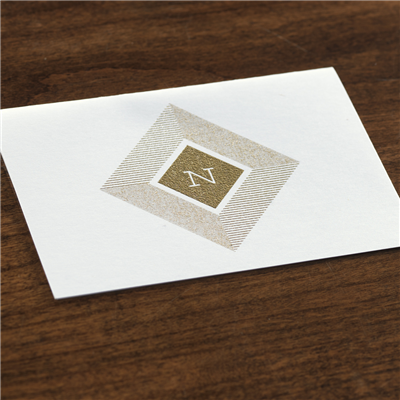 Parquetry Thank You Note