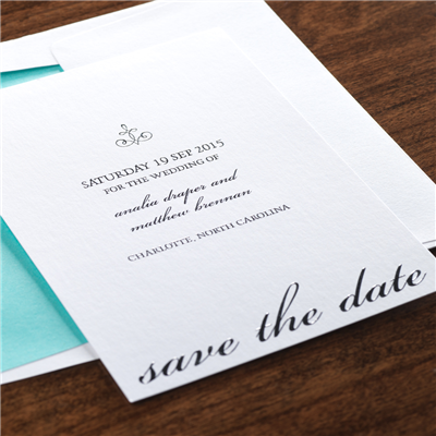 Pirouette Save The Date