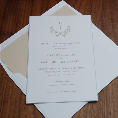 Daphne Invitation