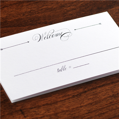As You Wish Place Card