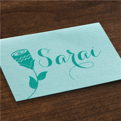 Posy Note Card