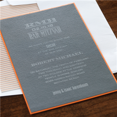 Tweed Invitation