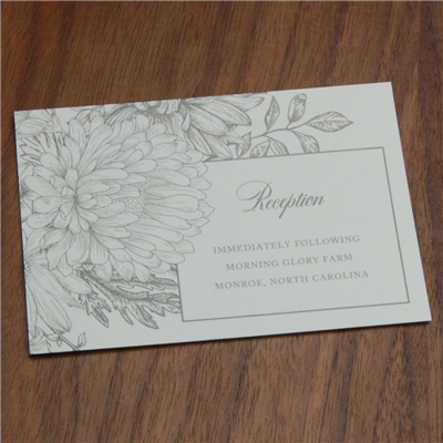 Rosemary Reception Card