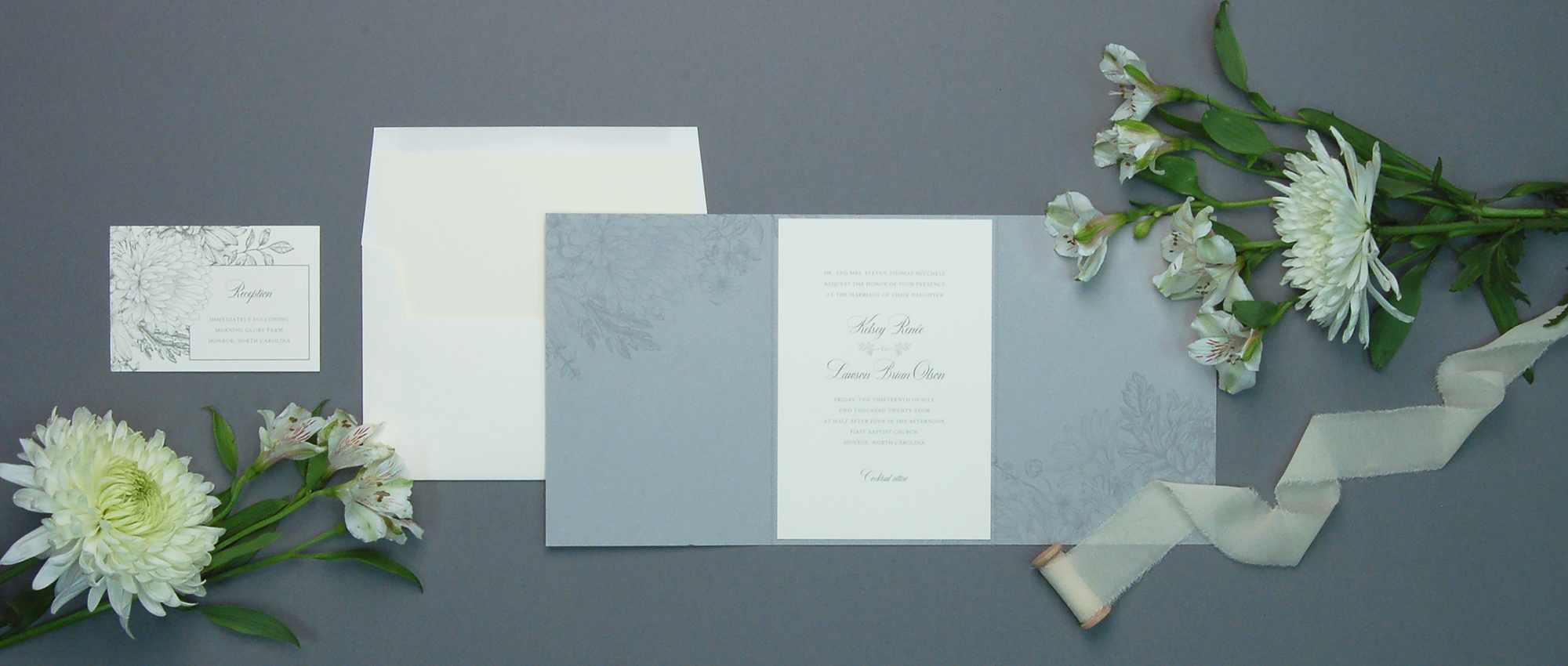 Rosemary suite from the Always wedding collection